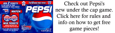 Pepsi's Ultimate Ticket Promotion